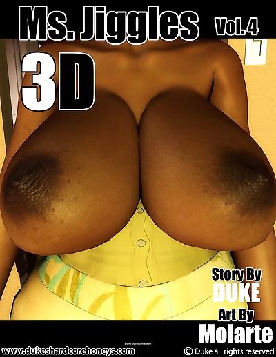 Ms Jiggles 3D – Part 4-..