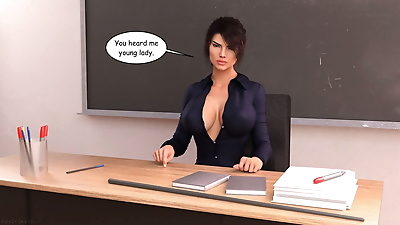 Crazysky3d- Monica A Teacher..