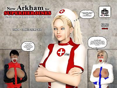 New Arkham For Superheroines..