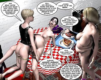 Fat bizarre pregnant orgy..
