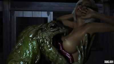 Casgra Oh No- Its A Monster!..