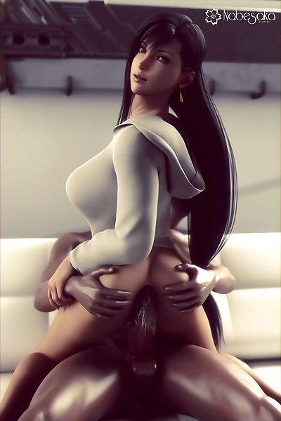 Tifa Lockhart - 3D..