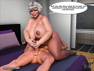 Crazy Dad 3D Mother꧇..