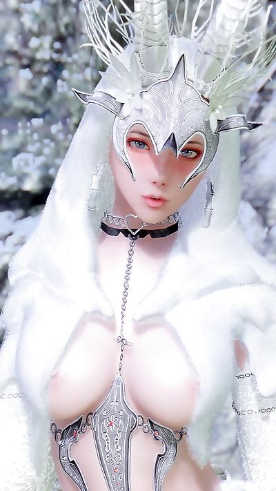 YuiH skyrim - White dear -..