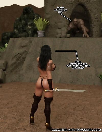 Amazons-Vs-Monsters Three..