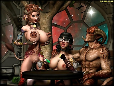 Demongirls & Scifi 3D..