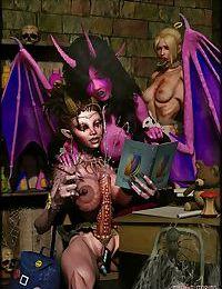 Demongirls & Scifi 3D gallery