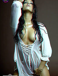3d pics of anetta keys stripping off a wet tshirt - part 543