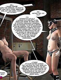 Kinky bondage comics - part 269