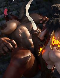 SquarePeg3D-Krata – Goddess of Whore