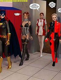 New Arkham for Superheroines 4 - New Management - part 4