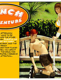 Bench Adventure – Shemale 3D Futanari