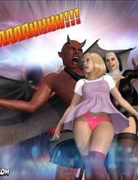 Crazy Dad 3D Evil Nun 2 English