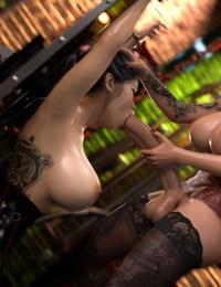 3DSimon My StepMom Is A DickGirl 3: The Kinky Room - part 3