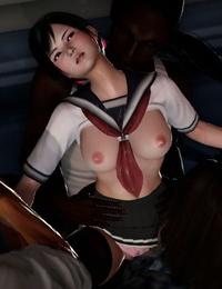 Pixiv DOA Kokoro:Beautiful Schoolgirl Gets Gangbanged Part1 77209424