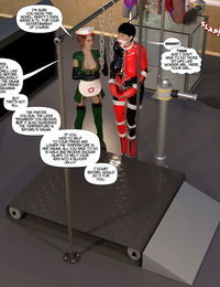 DBComix New Arkham for Superheroines 7 - New Employees - part 4