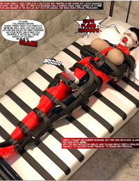 DBComix New Arkham For Superheroines 1 2nd Edition - Humiliation and Degradation of Power Girl