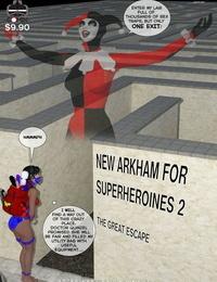 DBComix New Arkham for Superheroines 2 - The Great Escape - part 4