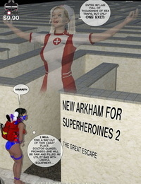 DBComix New Arkham for Superheroines 2 - The Great Escape