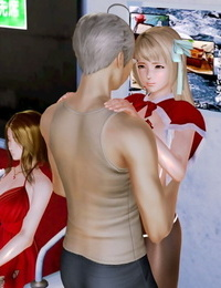 The Naive and Careless Daughter 迷糊的女兒 Chapter 5 - Obscene Chikan Chapter 猥褻痴漢篇 Chinese - part 4