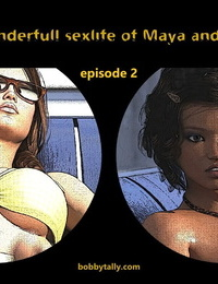 Bobbytally The Wondeful Sexlife of Maya & Megan 1 - 4