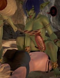 BlueGirl91 GoblinLayer! 3D