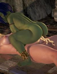 BlueGirl91 GoblinLayer! 3D - part 5