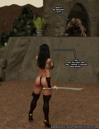 Amazons-Vs-Monsters Three Queens - part 2